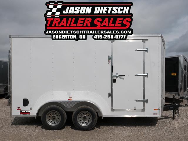 2016 RC Trailer 7x14 Wedge Nose Enclosed Cargo W/Extra Height Stock # RC-8656