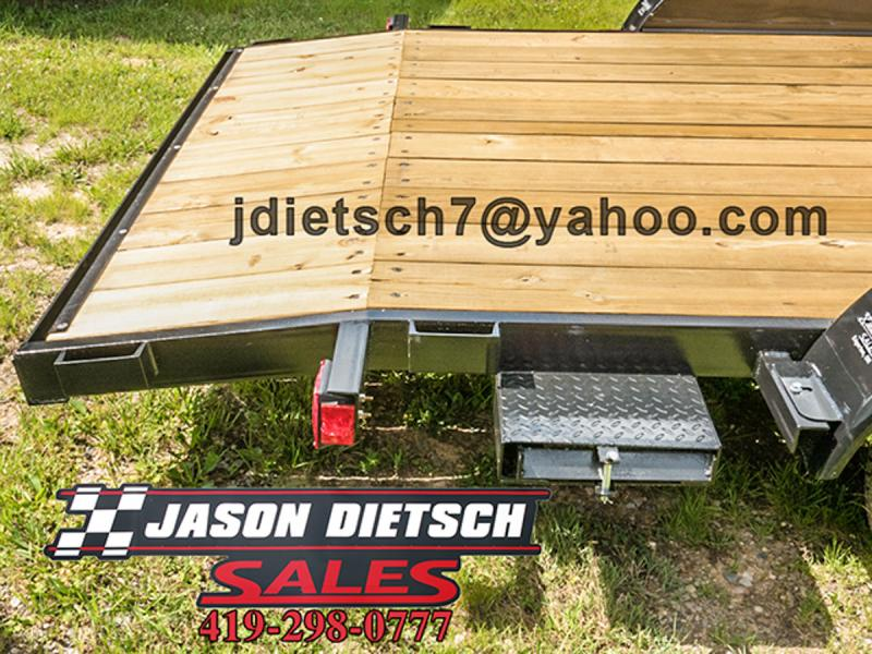 2017 American Mfg  82x16 Tandem Axle Carhauler....Stock# AM-1273