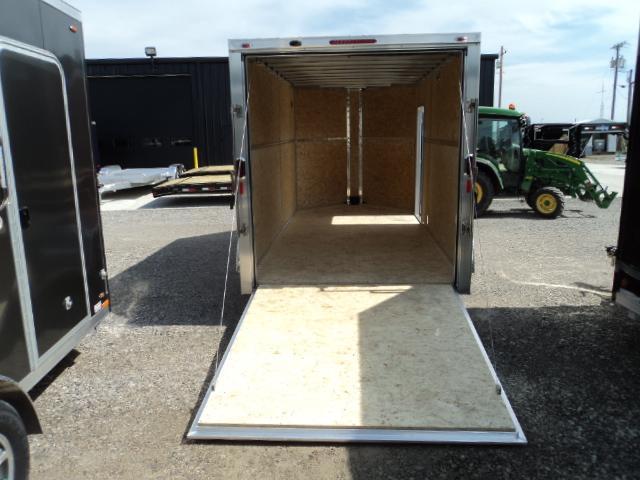 2016 Legend Mfg 7X17 V-Nose  All Aluminum Extra Height Enclosed Cargo Trailer....Stock LG-7726