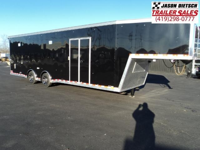 2018 United USHGN 8.5x36 Super Hauler Gooseneck Race Trailer Extra Height....Stock# UN-159706