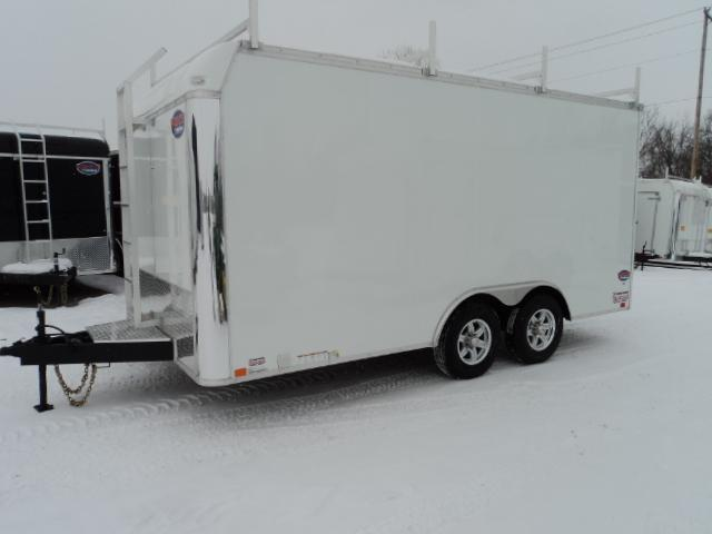 2018 United Trailers UXT 8.5X16 - 5200 lb. Tandem Axle Enclosed Cargo Trailer STOCK- 9749