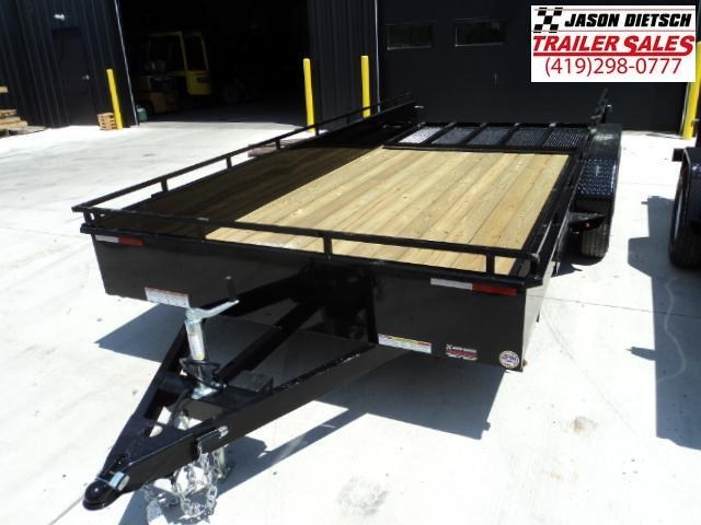2018 SURE-TRAC 7x16 Steel High Side Trailer..... Stock # ST-2543