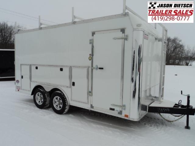 2018 United Trailers UXT 8.5x16 - 5200 lb. Tandem Axle Enclosed Cargo Trailer Stock 9041