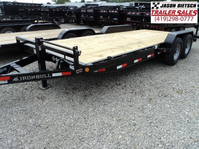 2017 IRON BULL 83x20 Tandem Axle Equipment Hauler Trailer....Stock#IB-3889