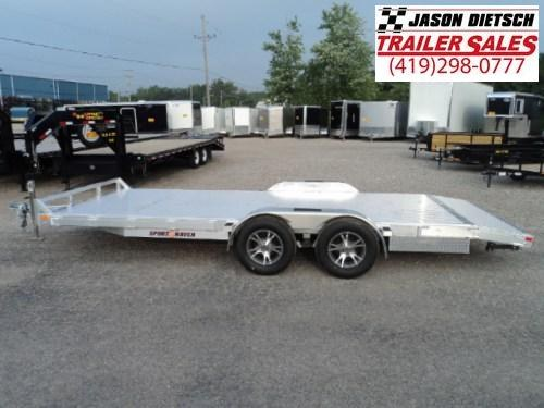 2016 Sport Haven 83x18 All Aluminum Open Car Trailer Car Trailer STOCK- 1539
