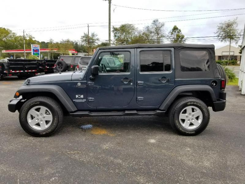 2008 Jeep Wrangler Unlimited X Suv East Coast Autos Trailers