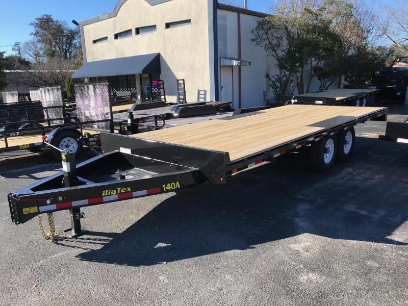 2018 Big Tex Trailers 20u0027 Deck Over Equipment Trailer