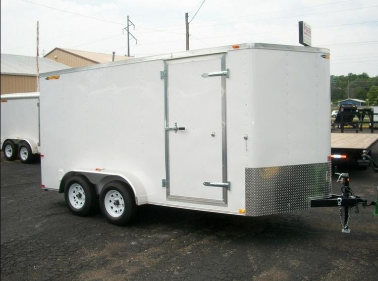 2017 Doolittle Trailer Mfg 7X14 Bullitt 7K Enclosed Cargo Trailer