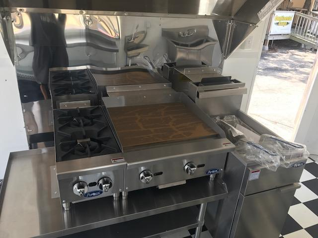 REDUCED PRICE --- BRAND NEW 8.5 x 16 CONCESSION / FOOD TRAILER