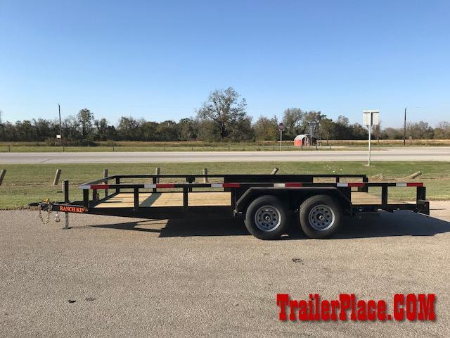 2018 Ranch King 82 x 18 Utility Trailer