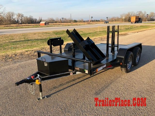 2018 East Texas  77x12 Welding Trailer