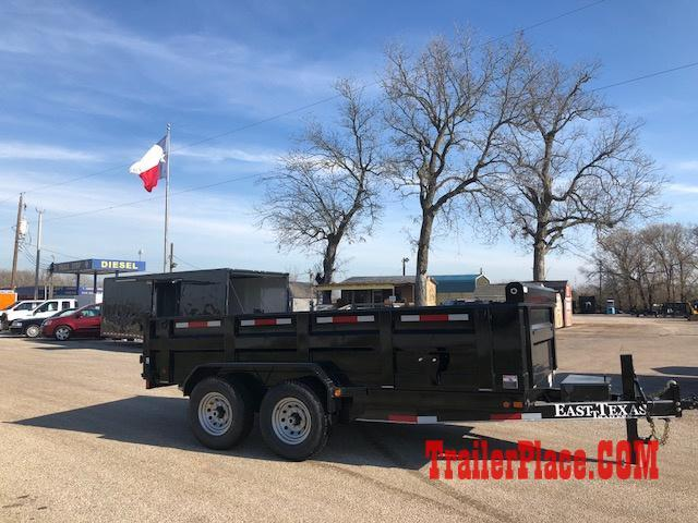"2018 East Texas 83"" x 14  Dump Trailer"