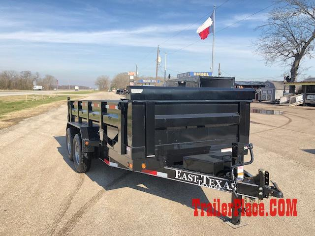 """2018 East Texas 83"""" x 14  Dump Trailer"""