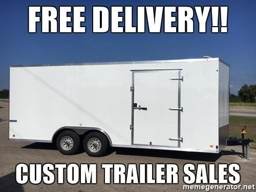 2018 Continental  8.5x24 Enclosed Cargo Car Trailer