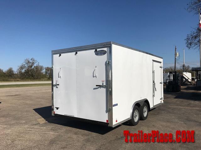 2018 Continental  8.5x16 Enclosed Cargo Car Trailer