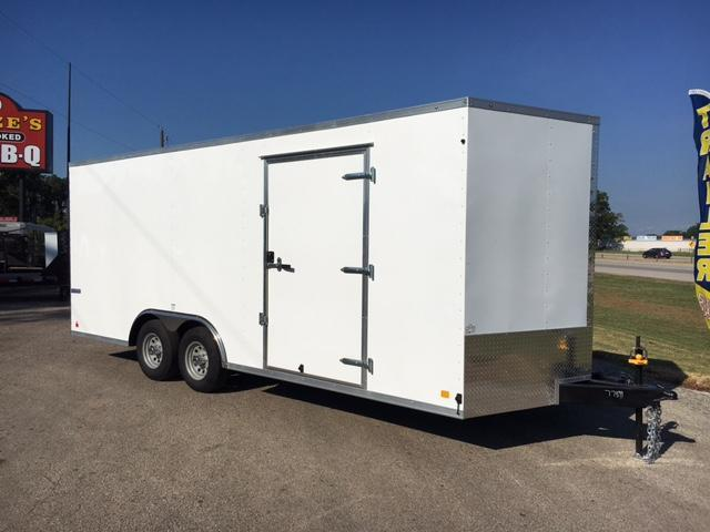 2018 Continental  8.5x20 Enclosed Cargo Car Trailer
