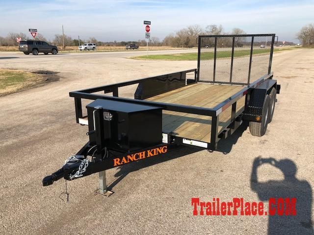 2018 Ranch King 6 x 14 Utility Trailer