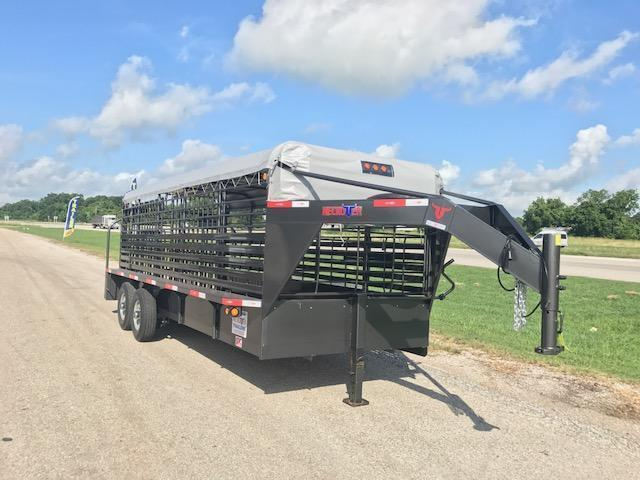 "2017 20' x 6' 8"" Neckover Cattle Trailer"