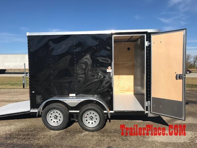 2018 Cargo Craft 7x12 Enclosed Trailer