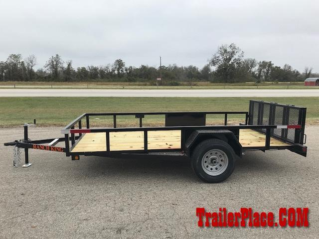 2018 Ranch King 82 x 12 Utility Trailer