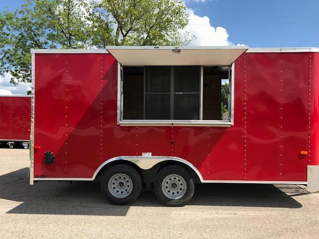 2018 Cargo Craft 8.5x16 Concession Trailer