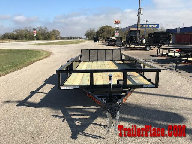 2018 Ranch King 82 x 16 Utility Trailer