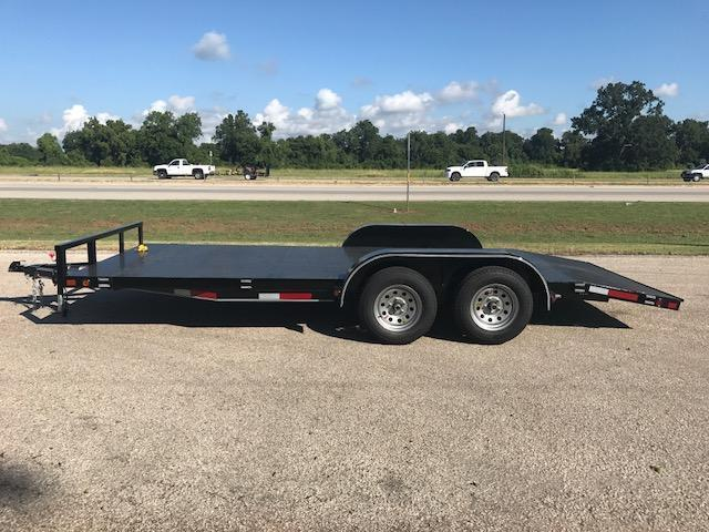 2018 East Texas 83X18 Car/Equipment Trailer
