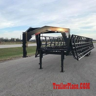 2017 Ranch King 14 bale Double Drop Hay Trailer