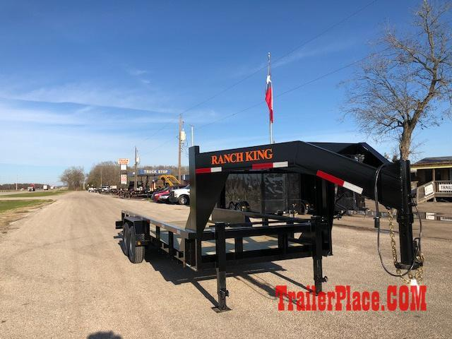 "2018 Ranch King 6'10"" x 20' Utility Trailer"