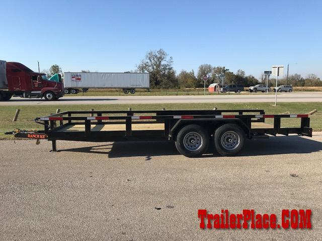 2018 Ranch King 82 x 20 Utility Trailer