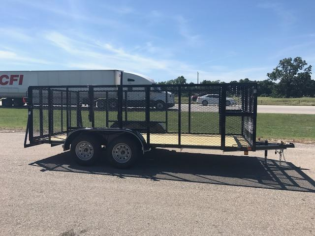2017 East Texas 83x16 landscaping trailer