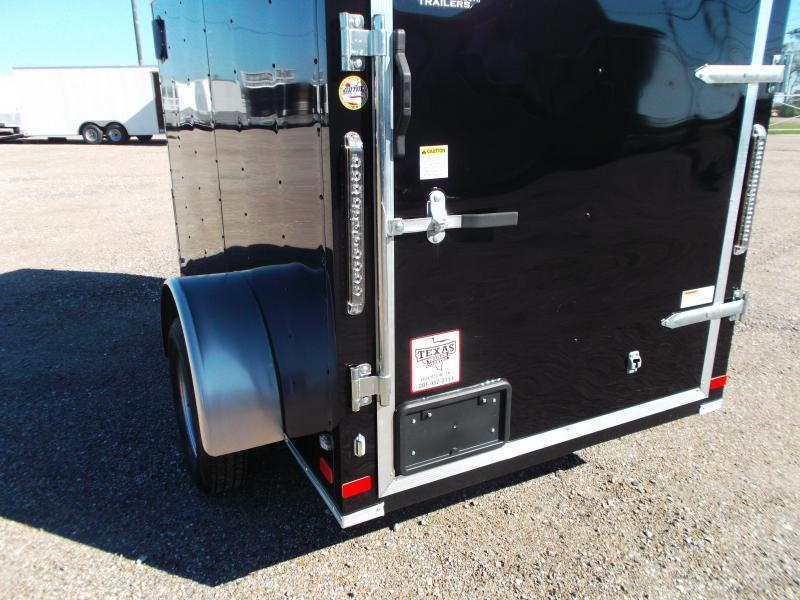 2018 Covered Wagon Trailers 5x8 Single Axle Cargo Trailer / Enclosed Trailer