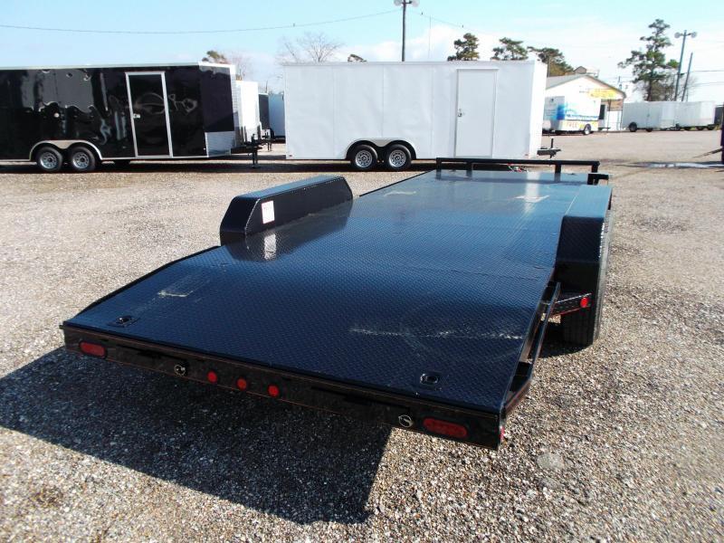 2019 Maxxd 83X20 10K Steel Deck Car Hauler / Racing Trailer / Powder Coated / 5200# Axles / Dovetail
