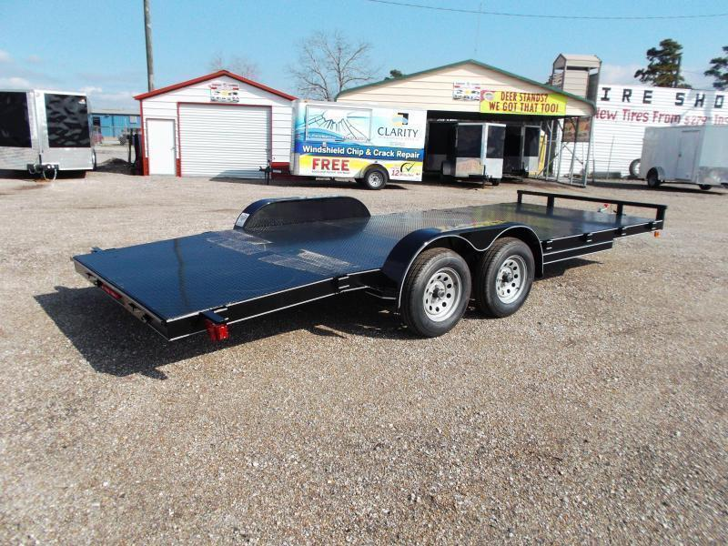 2018 Maxxd 83x18 Steel Deck Car Hauler / Racing Trailer w/ 4ft Dovetail / Powder Coated