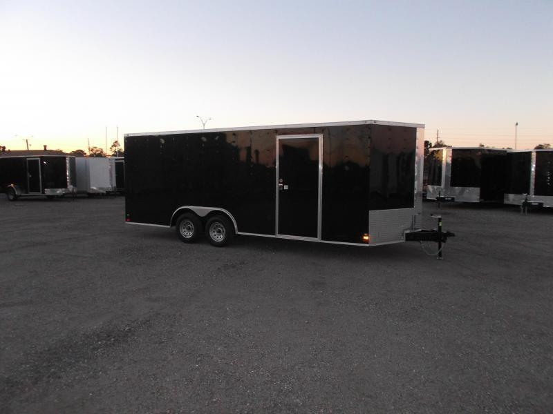 2018 Covered Wagon Trailers 8.5x20 Tandem Axle Cargo / Enclosed Trailer / Ramp