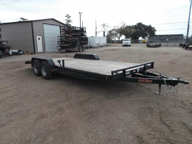 2017 Maxxd 83X20 10K Car Hauler / Race Car Trailer / Flatbed Trailer / Equipment Trailer / Powder Coated / 5200# Axles