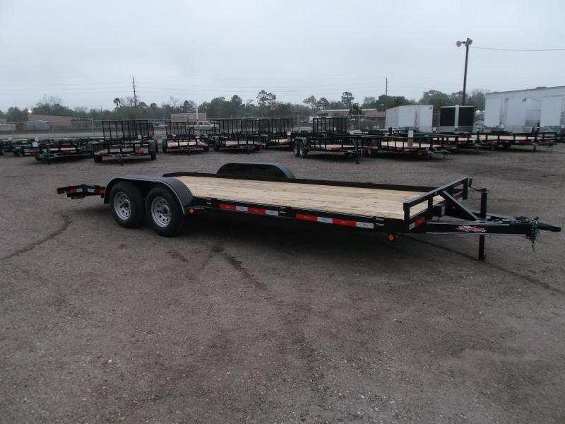 2018 Longhorn Trailers 20ft 7K Car Hauler / Racing Trailer / 2ft Dovetail