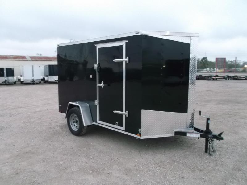 2018 Lark 6x10 Single Axle Cargo Trailer / Enclosed Trailer / Ramp / LEDs