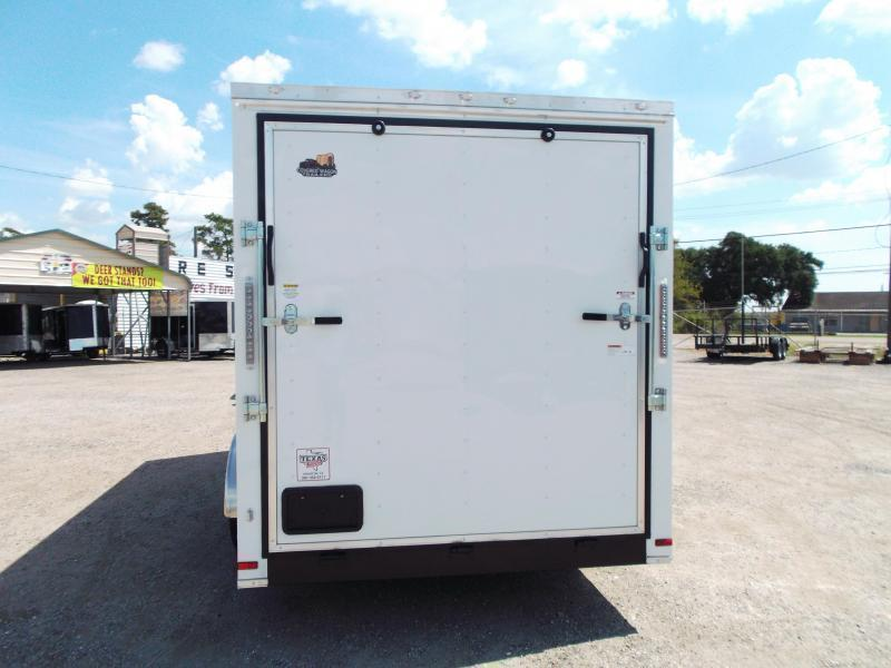 2018 Covered Wagon Trailers 7x16 Tandem Axle Cargo Trailer / Enclosed Trailer w/ 7ft Interior