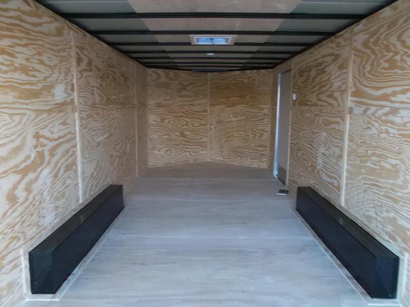 2019 Lark 8.5x20 Tandem Axle Cargo Trailer / Car Hauler / Ramp / LEDs
