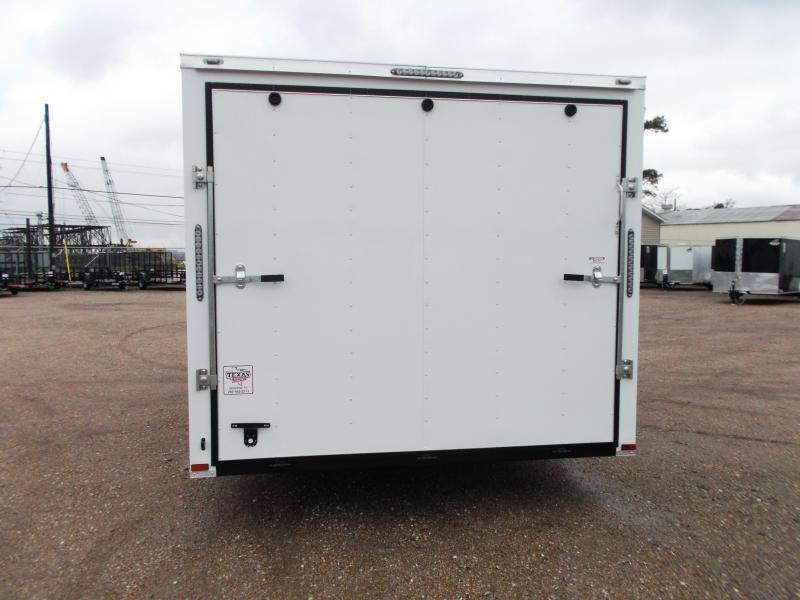 2019 Lark 8.5x20 Tandem Axle Cargo Trailer / Car Hauler / 5200# Axles / Heavy Duty Ramp / LEDs