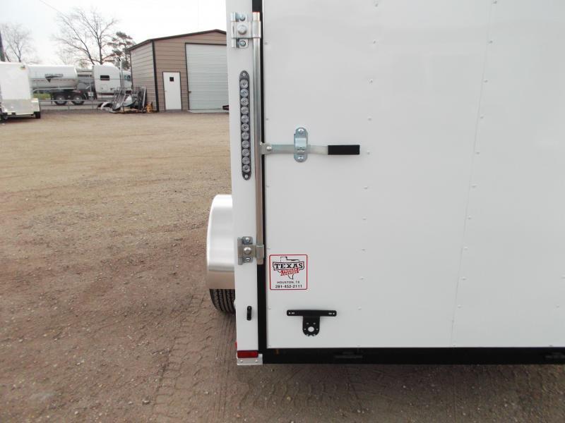 2019 Lark 6x10 Single Axle Cargo Trailer / Enclosed Trailer / Ramp / LEDs