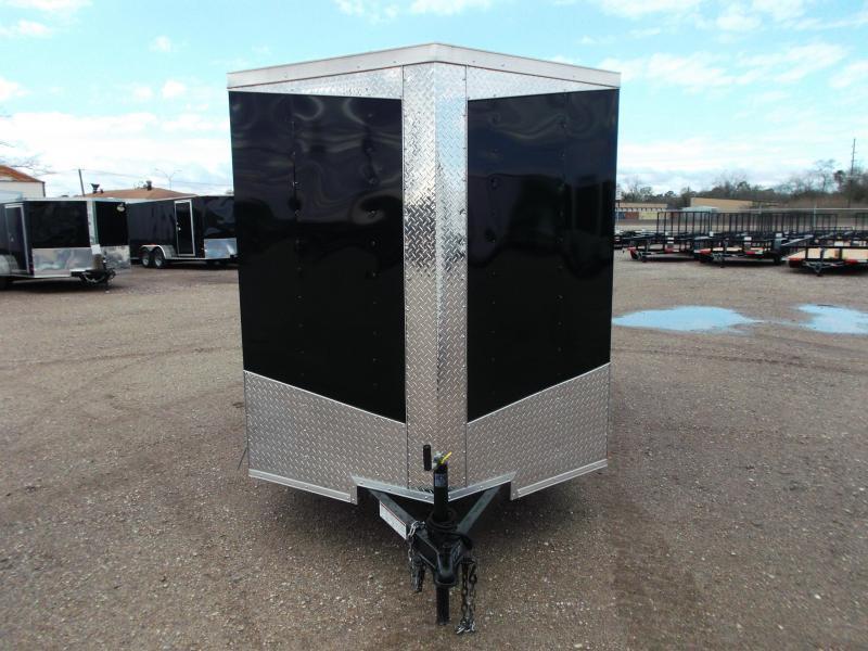 2018 Lark 6x12 Single Axle Cargo Trailer / Enclosed Trailer w/ Ramp