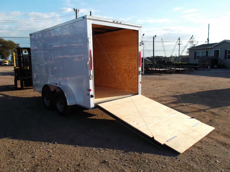 SPECIAL - 2019 Texas Select 6x12 Tandem Axle Cargo Trailer / Enclosed Trailer / Ramp / 6'6