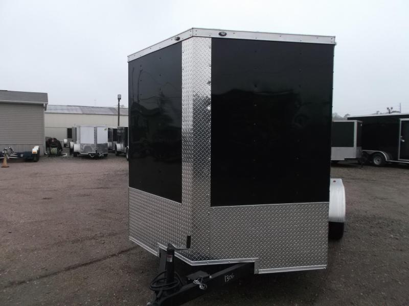 "2019 Texas Select 7x14 Tandem Axle Cargo Trailer / Enclosed Trailer / Ramp / 6'6"" Interior / Side Door / LEDs"