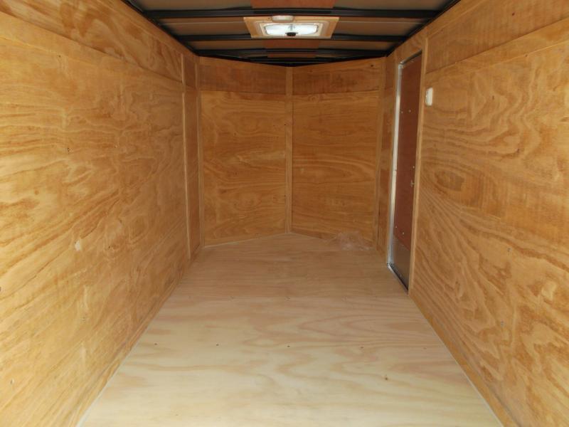 2018 Lark 5x10 Single Axle Cargo / Enclosed Trailer w/ Ramp & Side Door