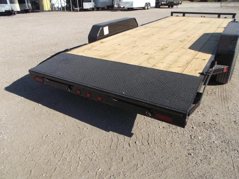 2018 Maxxd 83X20 10K Car Hauler / Race Car Trailer / Flatbed Trailer / Equipment Trailer / Powder Coated / 5200# Axles