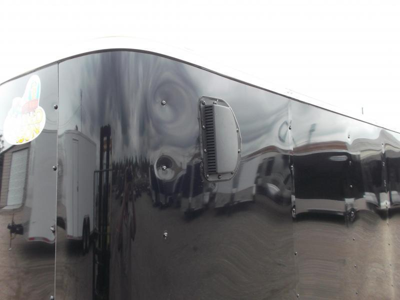 2019 Covered Wagon Trailers 5x8 Single Axle Cargo Trailer / Enclosed Trailer w/ Ramp Gate