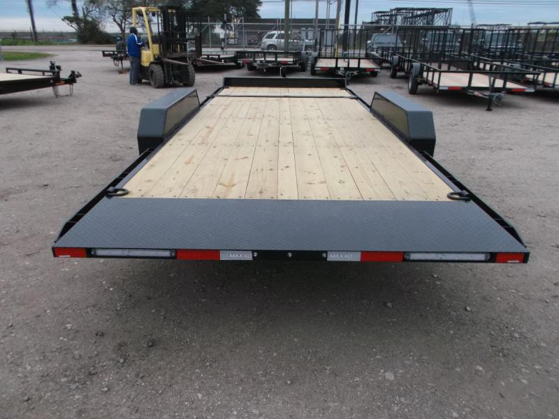 SPECIAL - 2019 Maxxd 83X20 10K Gravity Tilt Car Hauler / Equipment Trailer / Knife Edge Rear / 5200# Axles / LEDs