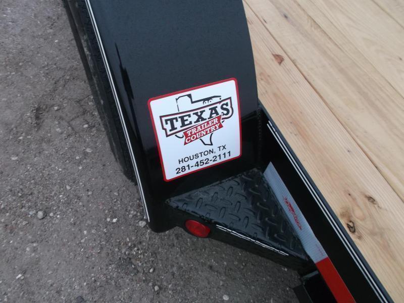 2018 Longhorn Trailers 18ft 7K Car Hauler Trailer / Race Car Trailer / 2ft Dovetail / 5ft Ramps / Brakes
